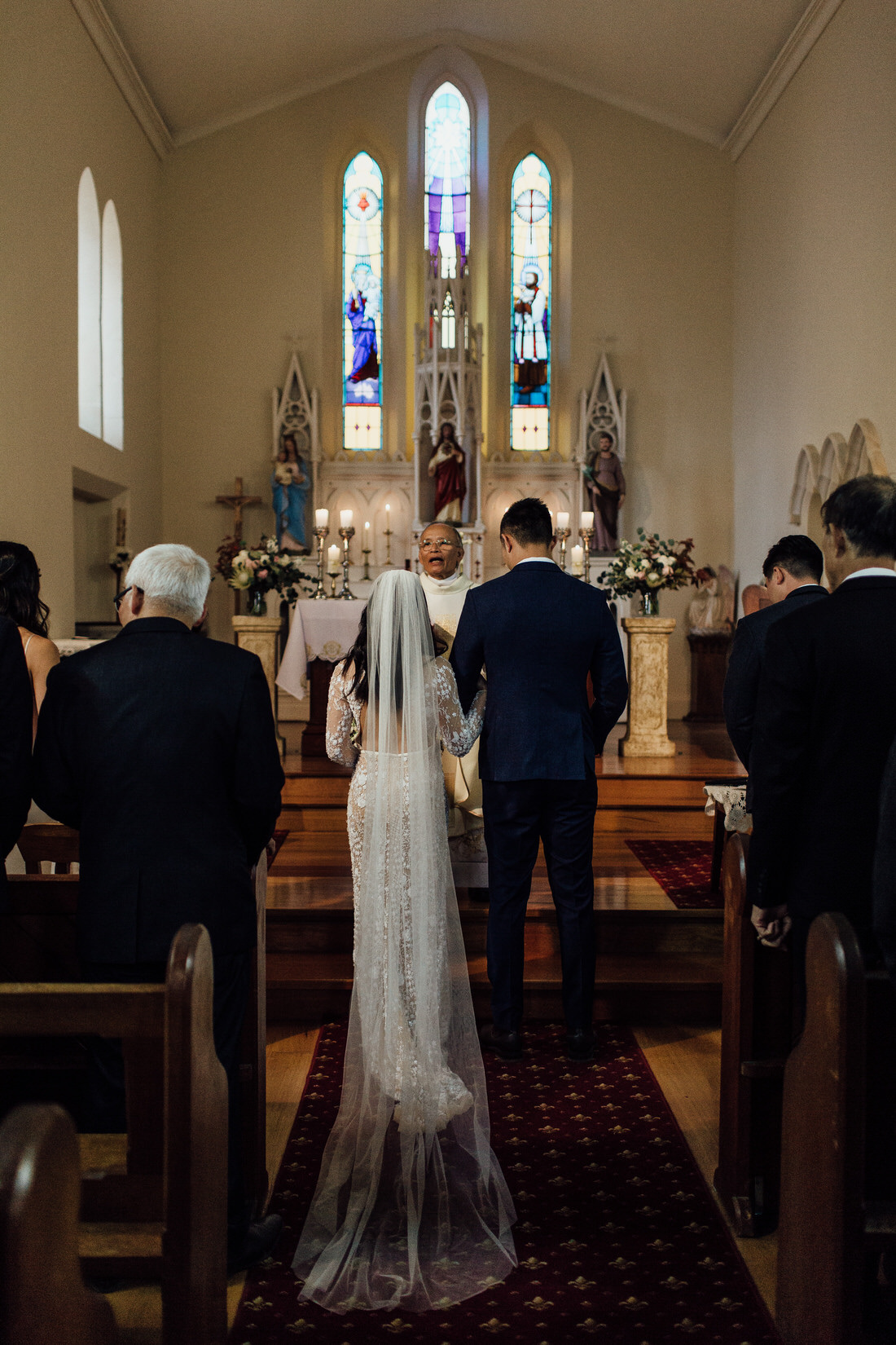 St Frances Xavier Church wedding in Berrima